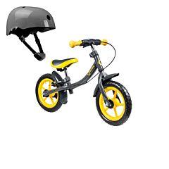 Беговел Lionelo Dan Plus со шлемом безопасности (Желтый)