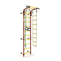 Детский спортивный комплекс Kampfer Strong Kid Wall + 52 см (красный-желтый)