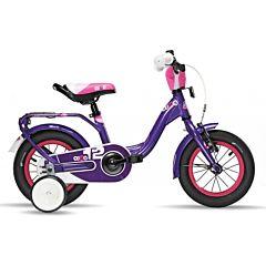 """Велосипед S'cool niXe 12"""" (2016) фиолетовый"""
