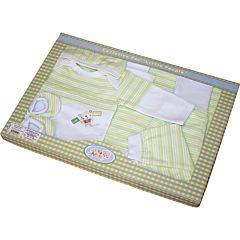 Комплект одежды для малыша Little People 6 пр. (зеленый)