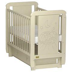 Кроватка детская Kitelli Micio (поперечный маятник с ящиком)