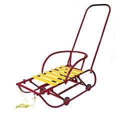 Санимобиль на колесах Hubster (красный)