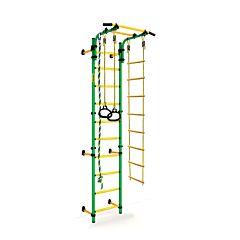 Детский спортивный комплекс Kampfer Strong Kid Wall + 52 см (зеленый-желтый)