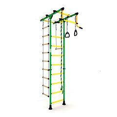 Детский спортивный комплекс Карусель Комета-1 (зелено-желтый)