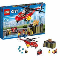 Конструктор Lego City 60108 Город Пожарная команда быстрого реагирования