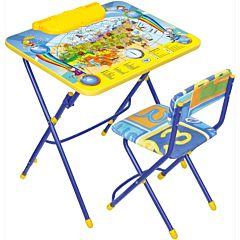 Комплект детской мебели Ника Детям Познаю мир КУ3