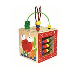 Развивающая игрушка Hape Активный куб-лабиринт