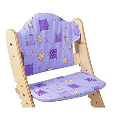 Подушка для стульчика Два Кота (фиолетовый)