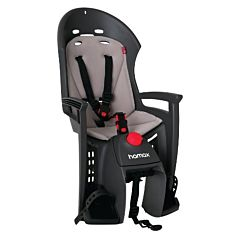 Велокресло на багажник Hamax Siesta Plus Lightweight Carrier до 22 кг (Серый/Серый)