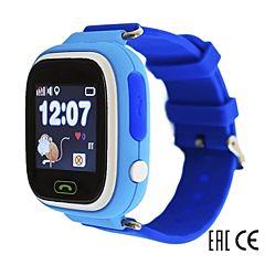 Детские часы с GPS-трекером SmartBabyWatch Q80 (голубой)
