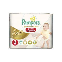 Подгузники-трусики Pampers Premium Care Midi (6-11 кг) 28 шт
