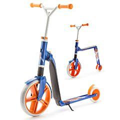 Беговел-самокат (трансформер) Scoot&Ride Highway Gangster 2 в 1 (бело/голубой/оранжевый)