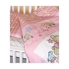 Комплект постельного белья Золотой Гусь Zoo Bear (3 предмета, хлопок) (розовый)