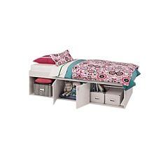 Кровать детская Polini Simple 3000 (белая)