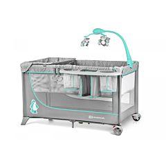 Манеж-кровать KinderKraft Joy (mint)