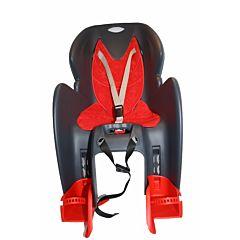 Велокресло на багажник Dieffe GP Classic до 22 кг (черное)