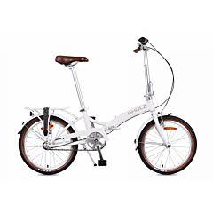 Велосипед складной Shulz Goa Coaster (2017) белый