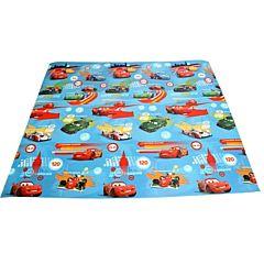 Развивающий коврик Yurim Disney с тубусом 200х150х1см (Тачки)