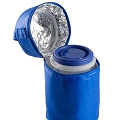 Термосумка Miniland Pack-2-Go-Hermisized с 2 мерными стаканчиками (Голубой)