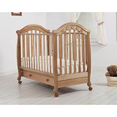 Кроватка детская Гандылян Джозеппе (колесо) (натуральный)