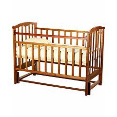 Кроватка детская Агат Золушка-5 (продольный маятник) (Орех)