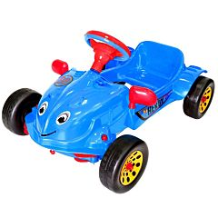 Детская педальная машина RT Herbi (Синяя)