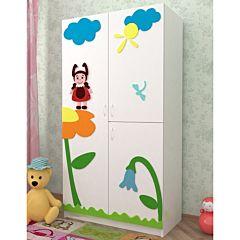 Шкаф двухсекционный Дубок (Лунтик)