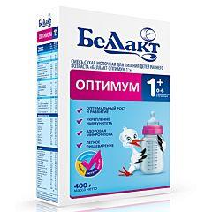 Сухая молочная смесь Беллакт Оптимум 1+ (0-6 мес.) 400 г