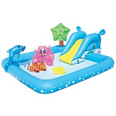 Надувной бассейн BestWay 53052BW Аквариум 308 л