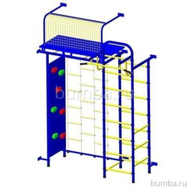 Детский спортивный комплекс Пионер 10Л со скалодромом