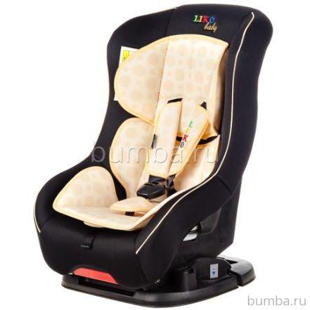 Автокресло Liko Baby LB-302 B (черный/бежевый)