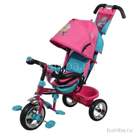 """Трехколесный велосипед Navigator Lexus с ПВХ-колесами 10"""" и 8"""" (Барби)"""