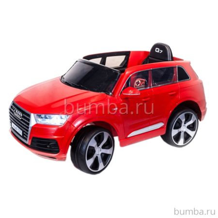 Электромобиль ToyLand Audi Q7 высокая дверь (красный)