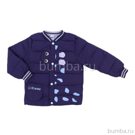 Куртка демисезонная Fun Time E19707 (синяя)