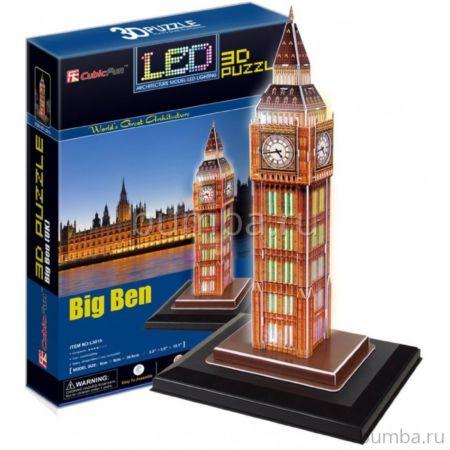 Игрушка CubicFun Биг Бен c иллюминацией (Великобритания)