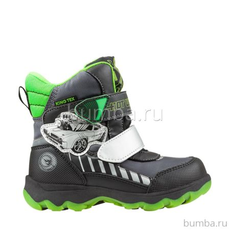 Сапоги детские Hot Wheels 5729A для мальчиков (серые)
