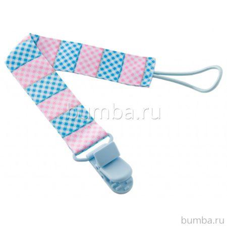 Держатель для пустышки Roxy Kids (Голубой-розовый)