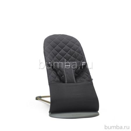 Кресло-шезлонг BabyBjorn Bliss Cotton Limited Edition (Черный)