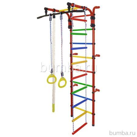 Детский спортивный комплекс Формула Здоровья Орленок-1А Плюс (красный)
