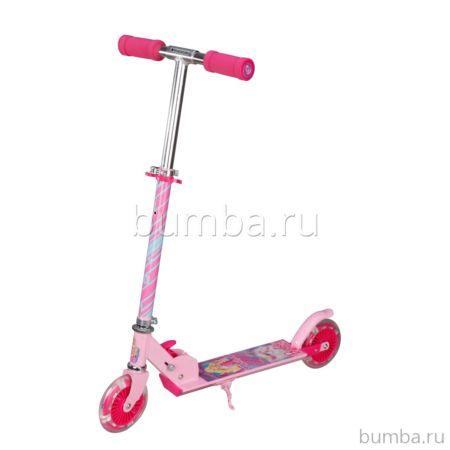 Самокат Navigator Barbie со светящимися колесами