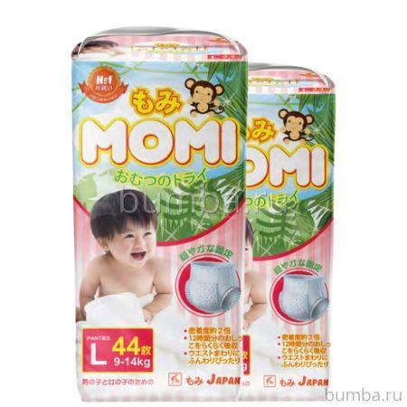 Подгузники-трусики Momi L (9-14 кг) 44 шт.