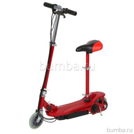 Электросамокат Tanko T3S с сиденьем (красный)