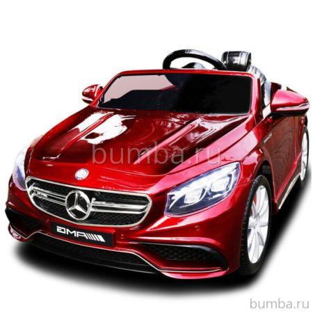 Электромобиль Coolcars Mercedes Benz S63 Luxury 2.4G (красный)
