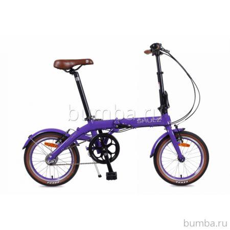 Велосипед складной Shulz Hopper 3 (2017) фиолетовый
