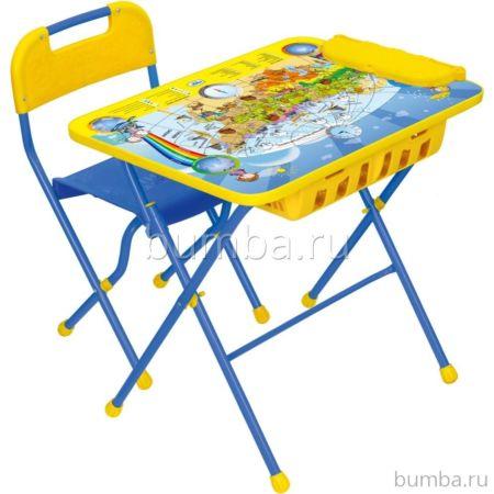 Комплект детской мебели Ника Детям Познаю мир КПУ2П