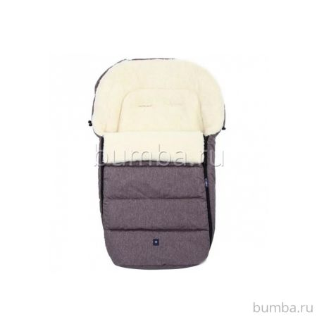 Конверт в коляску зимний Womar S77 Exclusive Lion (серый)
