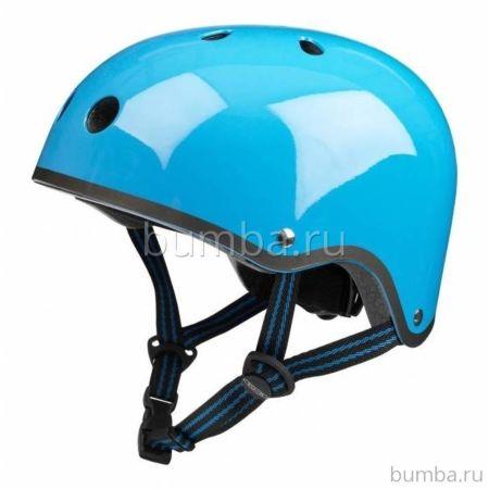 Шлем Micro (голубой неон)