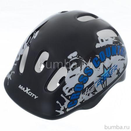 Шлем MaxCity Baby Cross (синий)