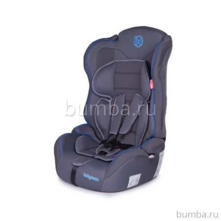 Автокресло Baby Care Upiter Plus (серо-синее)