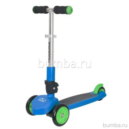 Самокат Hudora Flitzkids (голубой)